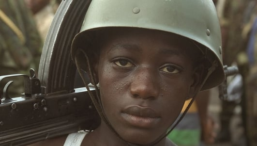 Armed groups recruit and abuse children as part of a long running conflict - Congo