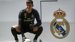 Thibaut Courtois is back with his family in Madrid