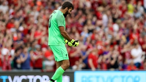 Alisson Becker looks certain to start for Liverpool against West Ham