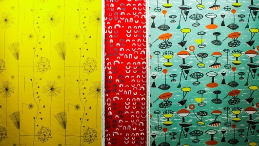 """Lucienne Day: Living Design"", an exhibition at the Coach House, Dublin Castle"