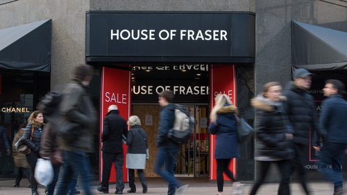 Sports Direct to close four more House of Fraser stores