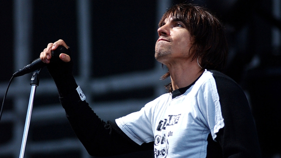 Anthony Kiedis, Red Hot Chili Peppers at Slane Castle (2003)
