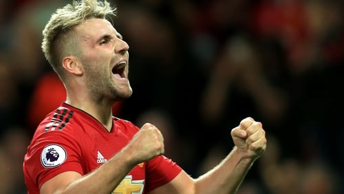 Luke Shaw scored his first goal for United and it turned out to be the winner