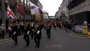 The 'Derry Day' parade is the biggest standalone event in the calendar of the loyal orders (file picture)