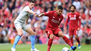 Declan Rice had a tough time up against Liverpool