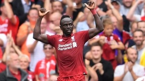 Mane has scored 40 goals for Liverpool