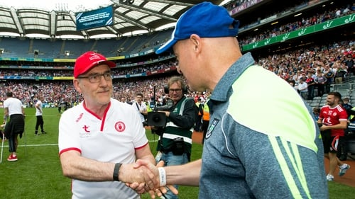 Joe Brolly believes Mickey Harte's team need to re-think their shape on opposition kick-outs