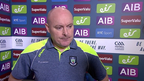 """O'Rourke: """"Can't understand only 3 mins injury time""""   The Sunday Game"""