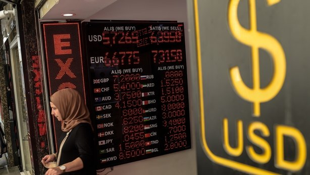 Lira extends slide as Erdogan says Turkey in economic war