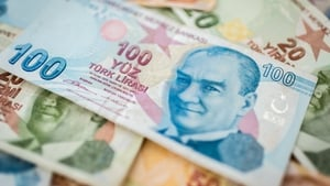 At one point the lira shredded a quarter of its value in a single day