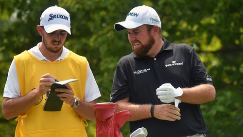 Shane Lowry, with his brother Alan at the Us PGA