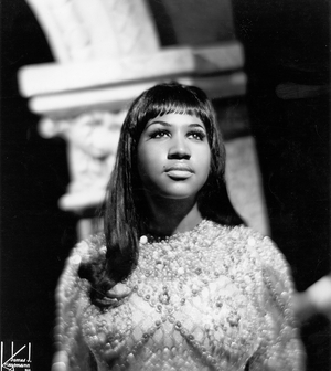 Soul singer Aretha Franklin poses for a portrait in circa 1967. (Photo by Michael Ochs Archives/Getty Images)