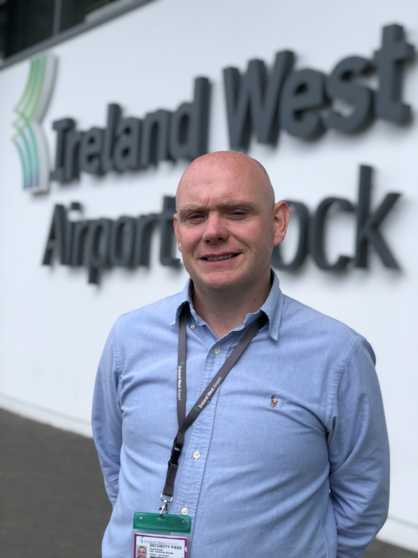 Image - Donal Healy from Ireland West Airport Knock, Co Mayo