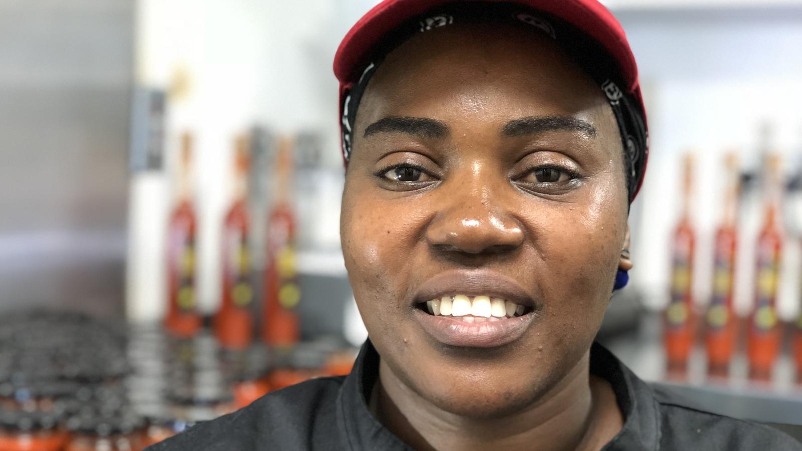 Image - Ellie Kisyombe, an asylum seeker from Malawi, who lives in Dublin