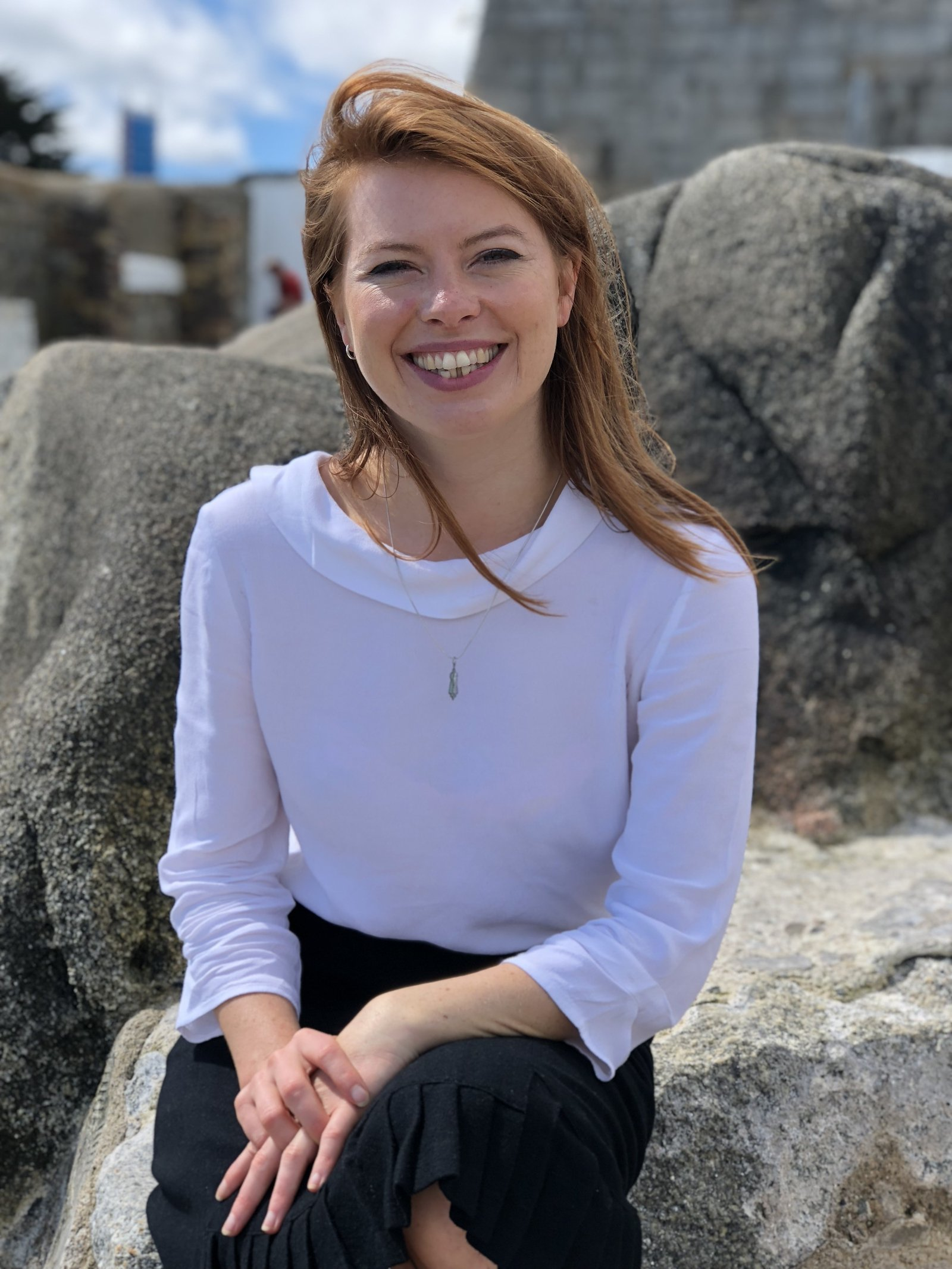 Image - Sinéad Mercier, from Co Galway, pictured at the Forty Foot in Sandycove, Co Dublin