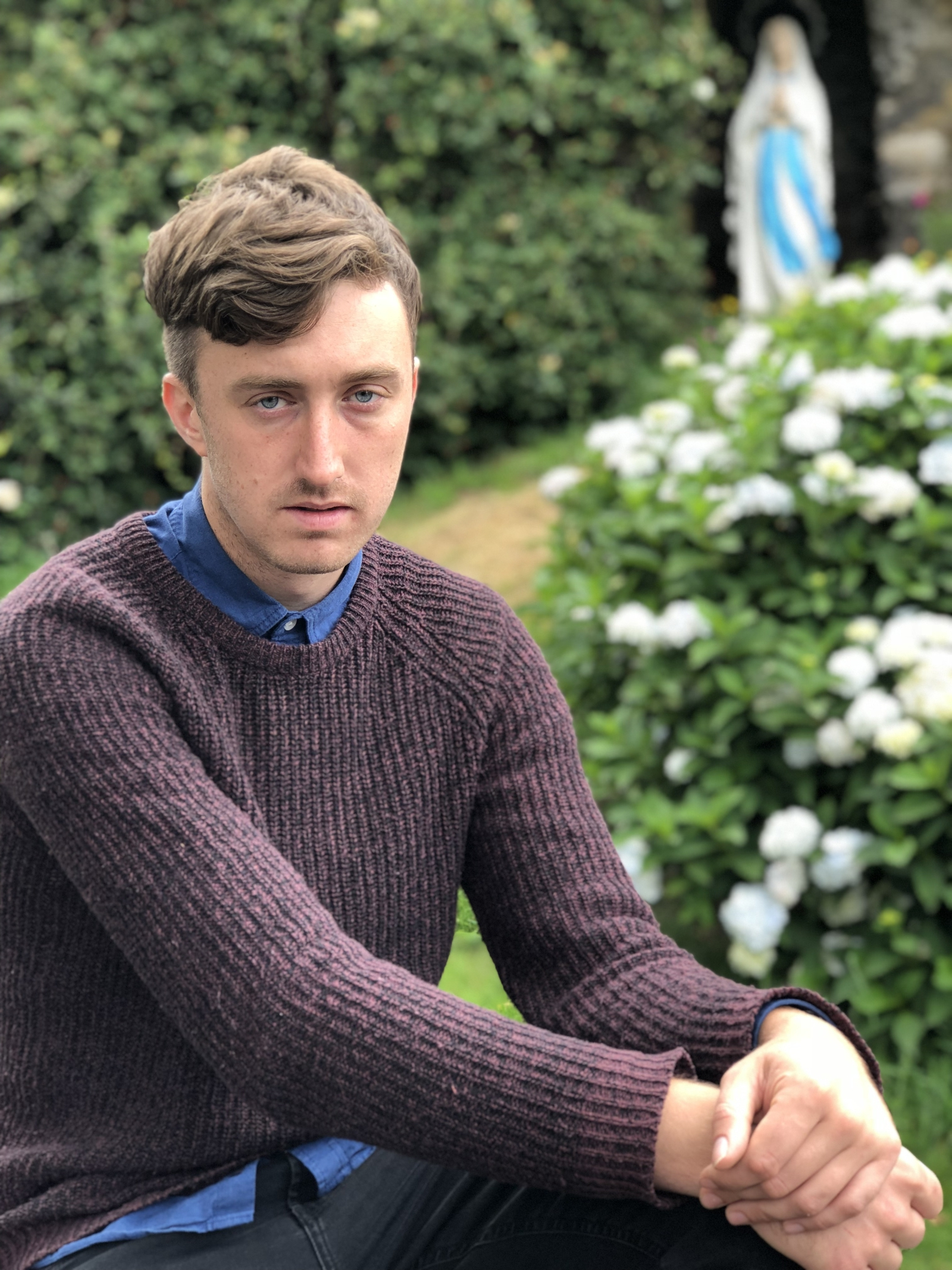 Image - Lewis Kenny, a spoken word poet from Cabra in Dublin, based in Skibbereen, Co Cork