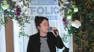 Singer Lisa O'Neill performing at the launch of the RTÉ Radio 1 folk Awards.