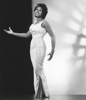 Soul singer Aretha Franklin poses for a portrait circa 1964 in New York city, New York. (Photo by James Kriegsmann/Michael Ochs Archives/Getty Images)