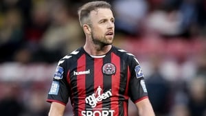 Keith Ward scored against Wexford Youths on Friday