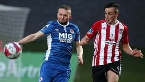 Derry City-St. Patrick's Athletic is the only all Premier Division tie in tonight's FAI 2nd round draw