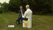 Nine News (Web): Portable chair a hit ahead of papal mass
