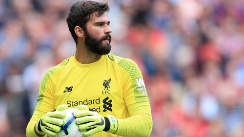 Alisson made his competitive bow for Liverpool against West Ham