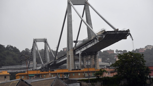Autostrade, part of infrastructure group Atlantia, operated the Genoa bridge that collapsed on August 14
