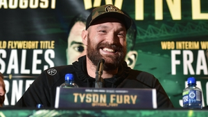 Tyson Fury is unconcerned by the prospect of Deontay Wilder being at ringside at Windsor Park