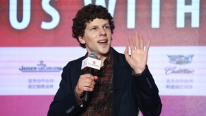 Jesse Eisenberg - Has been filming in Ireland over the past month
