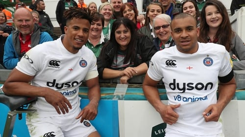 Anthony Watson (l) and Jonathan Joseph will not feature for England this November