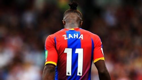 Wilfried Zaha has come in for racist abuse and death threats