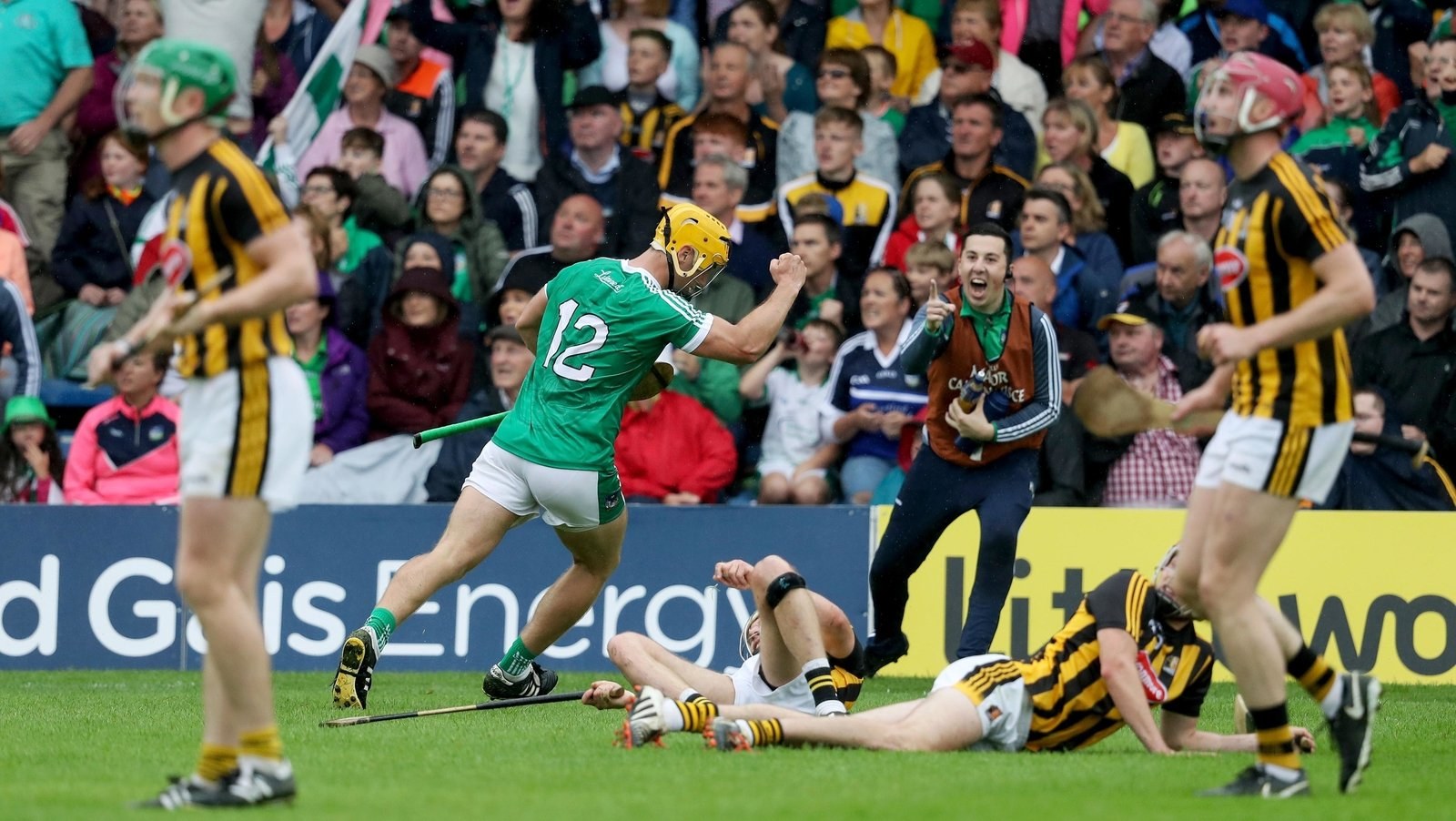 Image - Tom Morrissey lands a crucial point against Kilkenny in the All-Ireland quarter-final