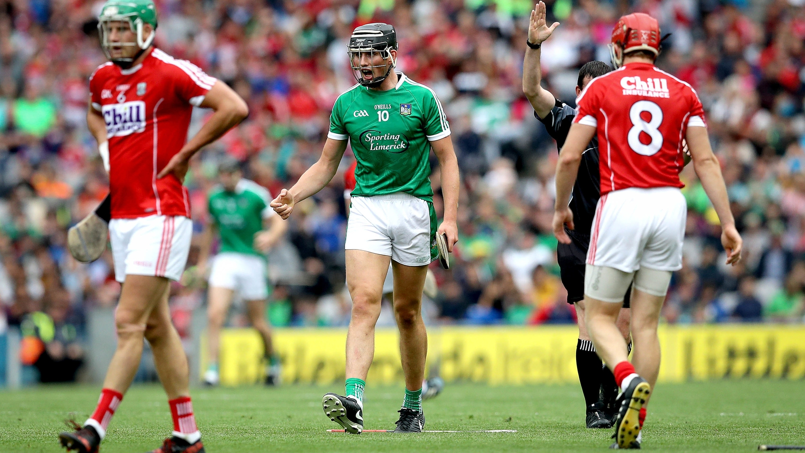 Image - Gearóid Hegarty is his club's first senior intercounty hurler