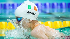 Nicole Turner finished fourth in the 100m Breaststroke SB6 final