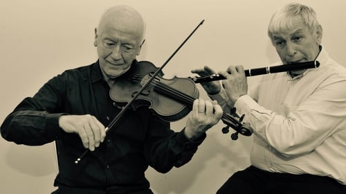 Séamus McGuire (fiddle) and John Lee (flute)
