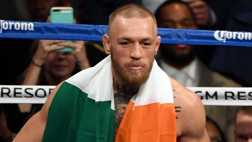 Conor McGregor returns to the octagon