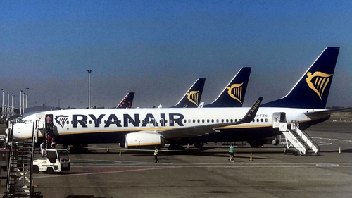 Ryanair has cut its profit guidance from a current range of €1.25-€1.35 billion, to a new range of €1.10-€1.20 billion