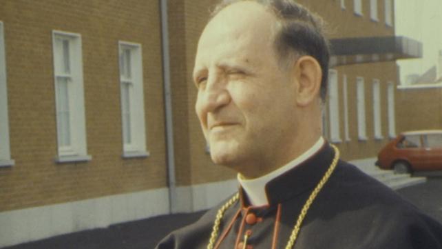 Papal Nuncio Dr Gaetano Alibrandi (1979)