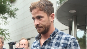 Danny Cipriani leaving the courthouse