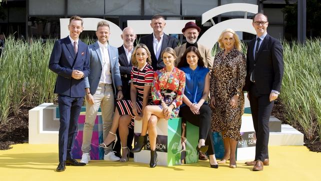 Las estrellas se reúnen para el lanzamiento de la nueva temporada de RTÉ 001071b7-642