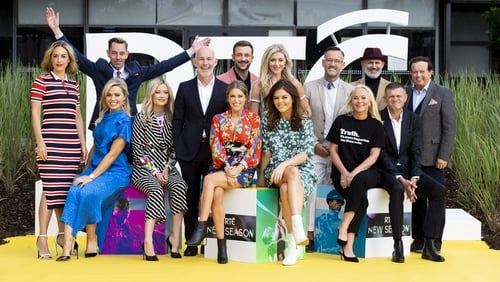Stars gather for RTÉ's new season launch