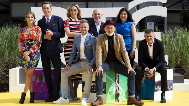 Las estrellas se reúnen para el lanzamiento de la nueva temporada de RTÉ 001071ba-642