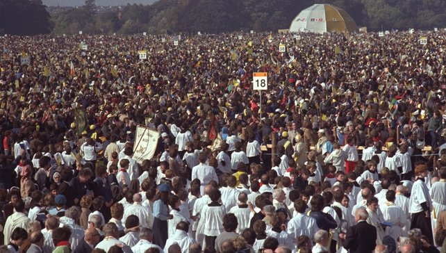Pope in the Phoenix Park (1979)