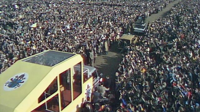 Popemobile in the Phoenix Park (1979)
