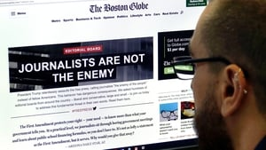 The Boston Globe accused Donald Trump of carrying out a 'sustained assault on the free press'