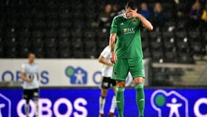 Cork City suffered defeat to Rosenborg