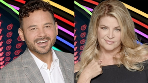 Ryan Thomas and Kirstie Alley Photos: Channel 5