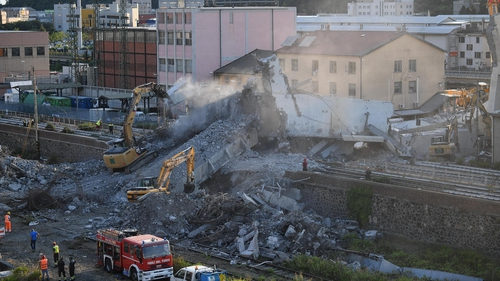 Up to 20 believed missing after Italy bridge collapse