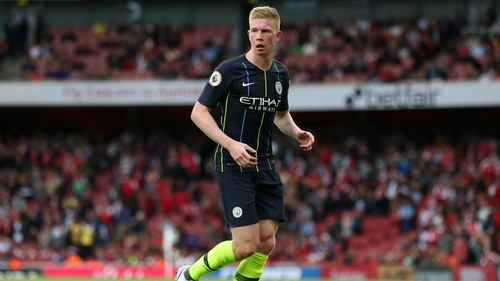 Manchester City's Kevin De Bruyne facing three months on sidelines