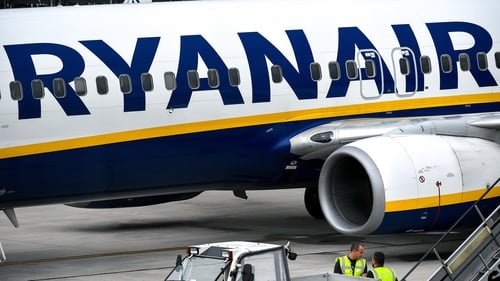 Ryanair said the flight was cancelled due to bad weather at Krakow Airport